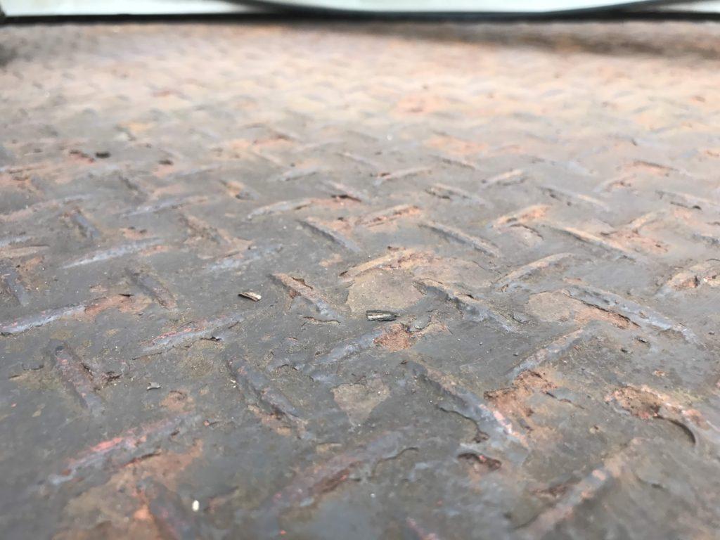 金属製テラス床