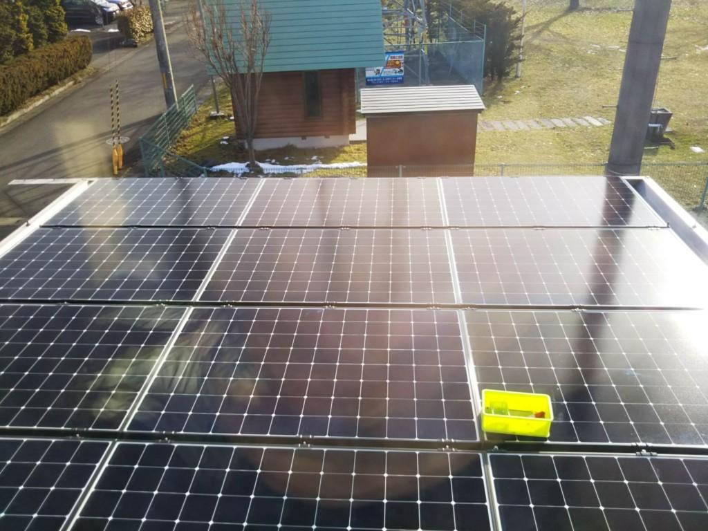 太陽光パネル4.3kw